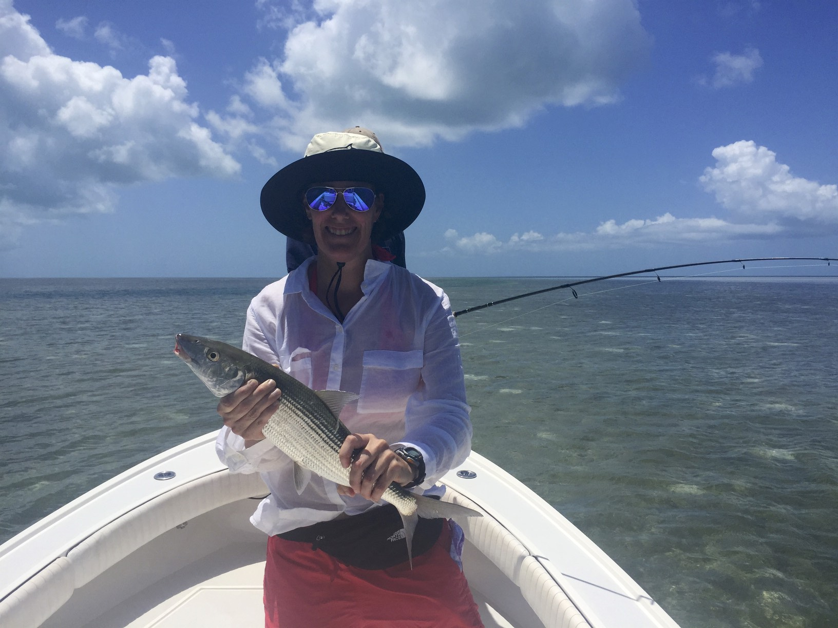 August 2016 fishing report all water charters for Key west shore fishing